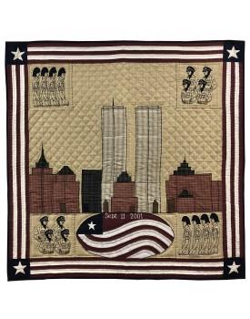 9/11/2001 Tribute to Hero Quilt