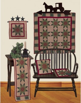 Lone Star Plaid Hand Quilted Tea Dyed Quilts