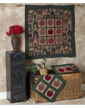 Apple Tea Dyed Quilts