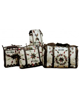 Star Garland Quilted Bags