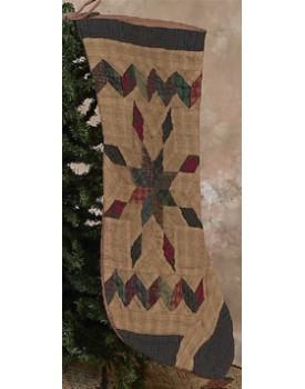 Tea Dyed Christmas Stockings