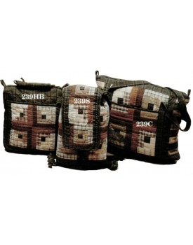 Country Log Cabin Quilted Bags
