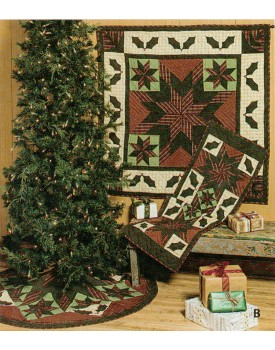Twinkle Star / Holly Plaid Quilts