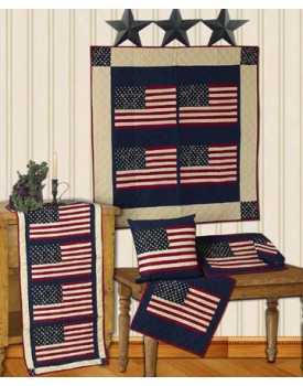 The Flag Mustard Quilts