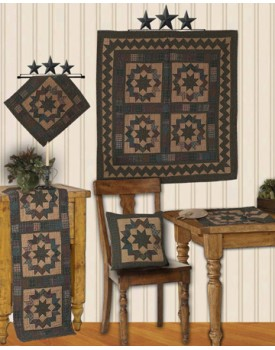 North Star Tea Dyed Quilts