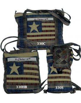 Old Glory Quilted Bags