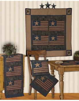 Old Glory Tea Dyed Quilts