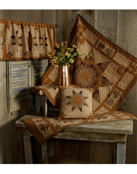 Autumn Splendor Tea Dyed Quilts