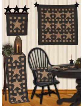 Blazing Star Tea Dyed Quilts