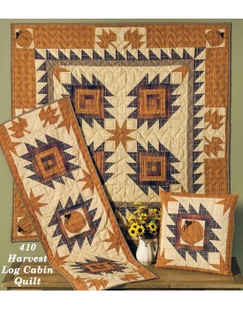 Harvest Log Cabin Quilts