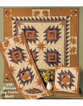 Harvest Log Cabin Quilts