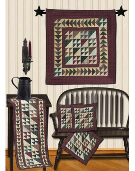 Rustic Flying Geese Quilts