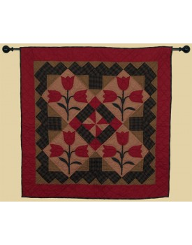 Tulip Tea Dyed Quilts