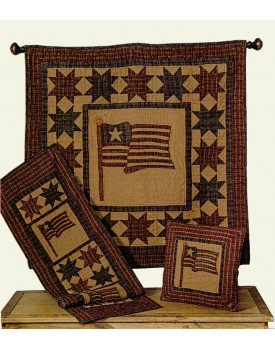 Americana Tea Dyed Quilts