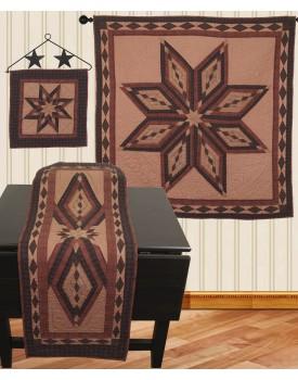 Starburst Tea Dyed Quilts