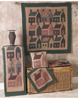 School House Tea Dyed Quilts