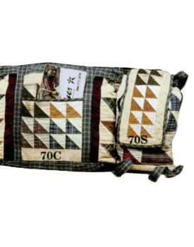 Flying Geese Quilted Bags