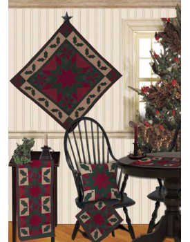 Twinkle Star / Holly Cran Red Tea Dyed Quilts