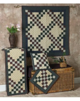 Double Irish Chain Quilts
