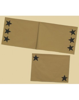 Country Classic Beige Star Quilts